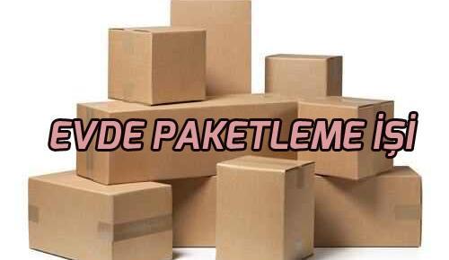 Evde Paketleme İşi Veren Firmalar! Kibrit, Düğme, Balon Paketleme!