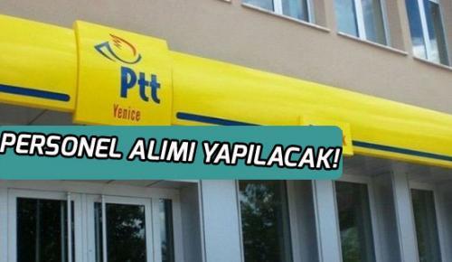 PTT'ye Satış Danışmanı Personeli Alınacak!